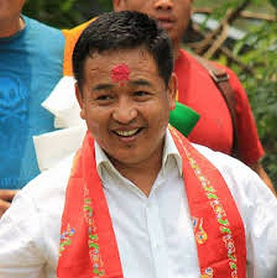 P S Golay sworn in as Sikkim CM