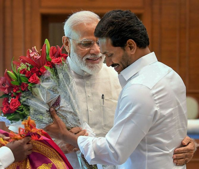 Jagan meets PM, Shah; requests special status, funds