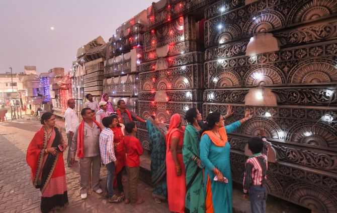 Govt gets cracking on setting up Ayodhya temple trust