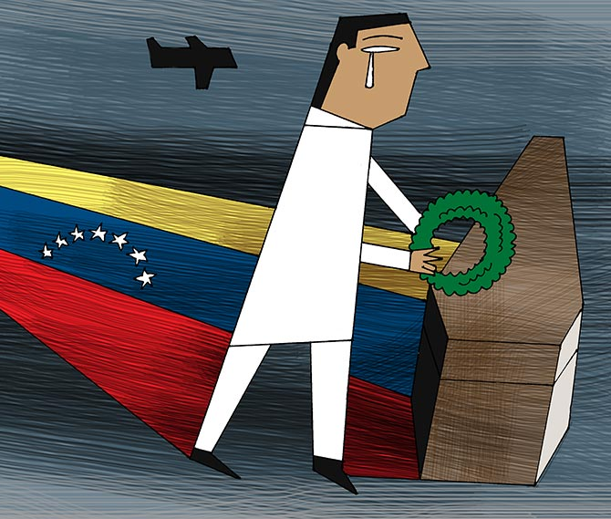 'In my grief, I blocked off Venezuela'