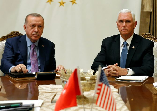 US announces ceasefire deal with Turkey in Syria