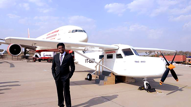 He built India's first airplane