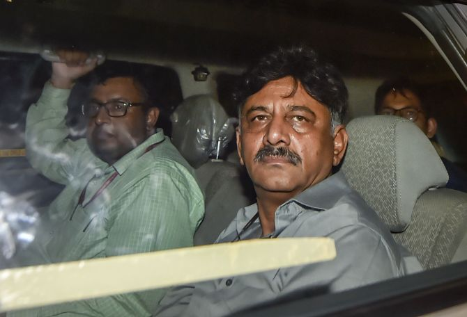 SC dismisses ED plea challenging bail to Shivakumar