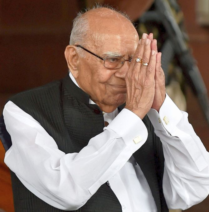 Ram Jethmalani: The man who never minced his words - Rediff