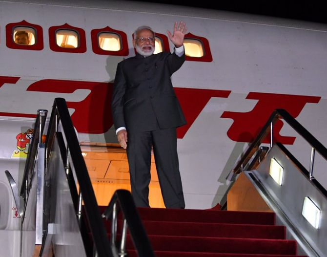PM Modi makes his visit to US from September 21 to 27