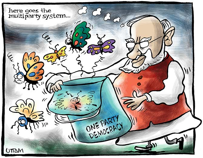 Uttam's Take: Bye-bye multi-party democracy