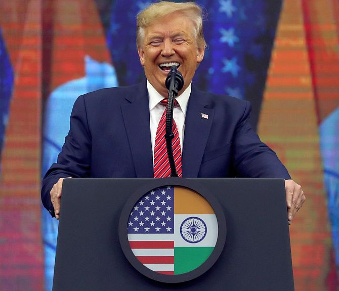 Trump woos Indian-American voters at Howdy Modi