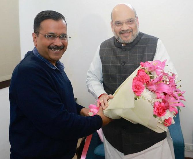 Kejriwal meets Shah, no discussion on Shaheen Bagh