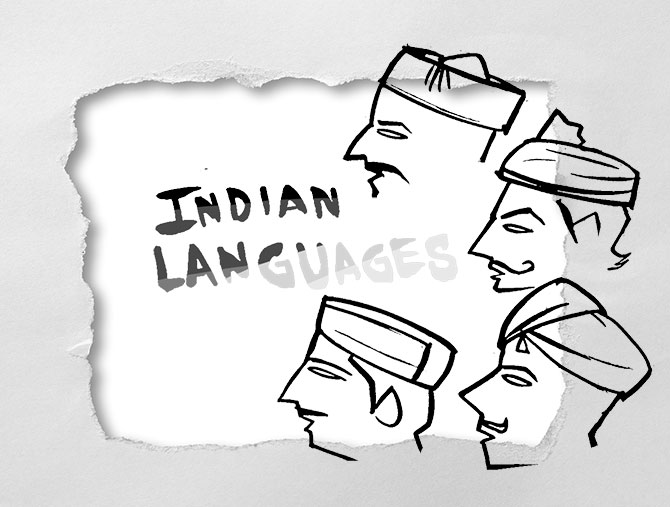 'In 30 years, 400 Indian languages will die'