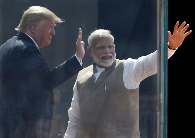Trade, defence to figure in Modi-Trump talks today