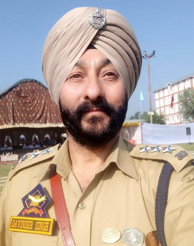 Davinder Singh - J&K Police
