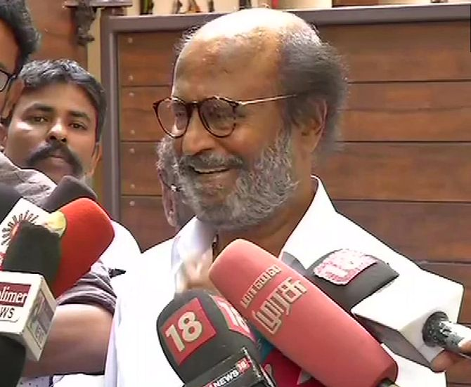 Sorry, I will not apologise: Rajini on Periyar remark