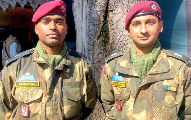 The duo who will lead the 'Hell March' at R-Day