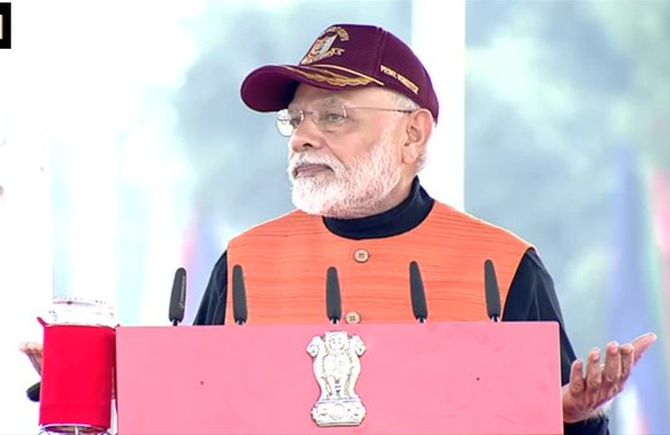 Brought CAA to correct historical injustice: Modi