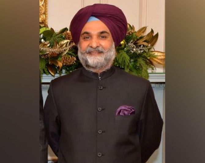 Taranjit Singh Sandhu appointed India's envoy to US