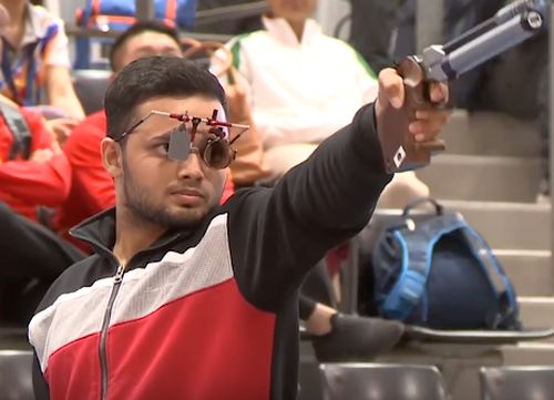 Shooter Manish Narwal clinches India's 3rd gold