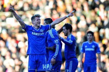 Schuerrle treble lifts Chelsea, Newcastle's Pardew sees red