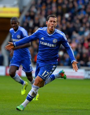 EPL: Hazard and Torres fire Chelsea to the top