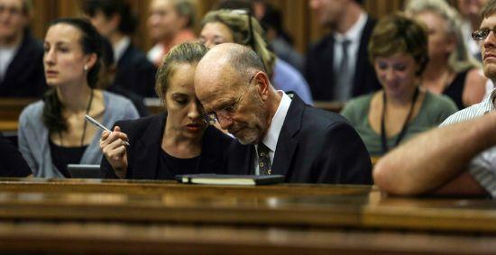 Arnold Pistorius at the Pretoria High Court