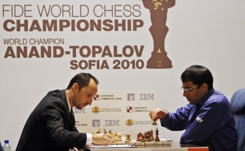 Bulgarian chess grandmaster and former world chess champion Veselin Topalov