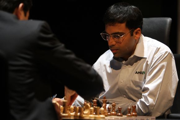 Viswanathan Anand, World Champion five times.