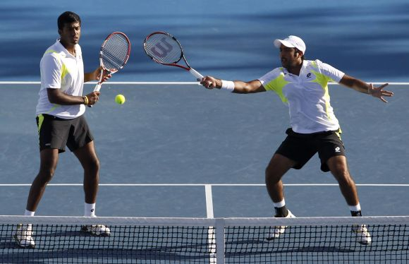 Rediff Sports - Cricket, Indian hockey, Tennis, Football, Chess, Golf - Sports Shorts: Bopanna-Qureshi enter pre-quarters in Monaco