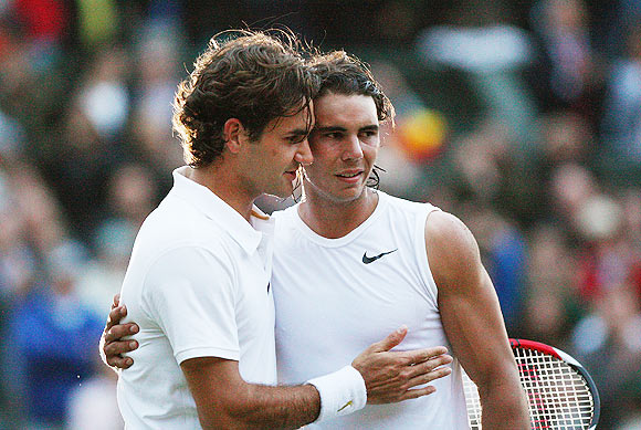 Nadal is the favourite here: Federer
