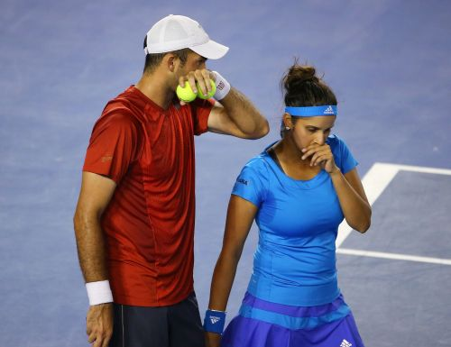 Horia Tecau and Sania Mirza