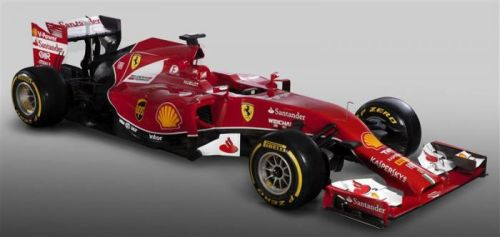 The new Ferrari car