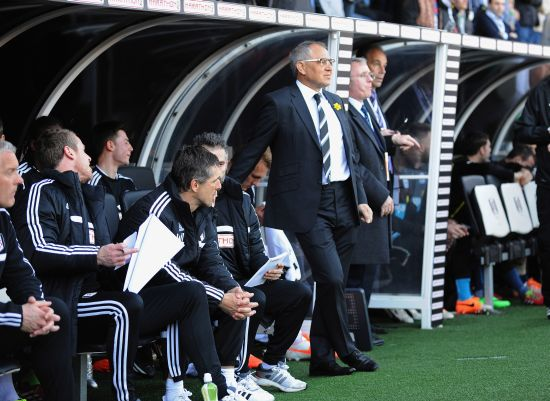 Manager of Fulham Felix Magath