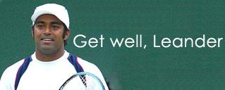 Get well, Leander