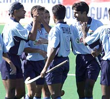 The young Indian team