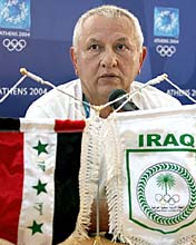 Tiras Odisho Anwaya, the director general of the National Olympic committee of Iraq