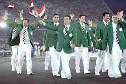 The Iraqi team
