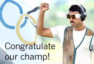 Congratulate our champ!