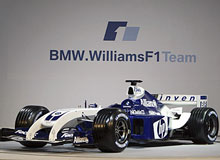 The new BMW Williams FW26