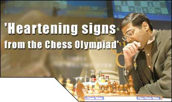 'Heartening signs from the Chess Olympiad'