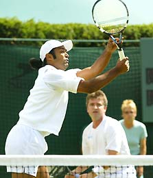 Leander Paes and David Rikl
