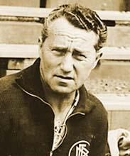 Adolf Dassler, the founder of Adidas