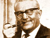 Rudolf Dassler, the founder of Puma