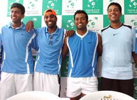 Indian Davis Cup team