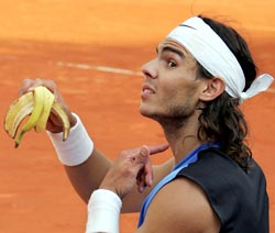 Image result for nadal banana