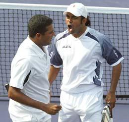 Leander Paes and Mahesh Bhupathi