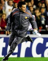 Valencia's David Navarro