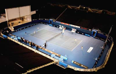 New Australian Open centre court
