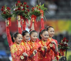 Chinese women win gold