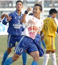 Mizoram football player Jerry Zirsanga