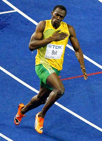 Bolt defies gravity