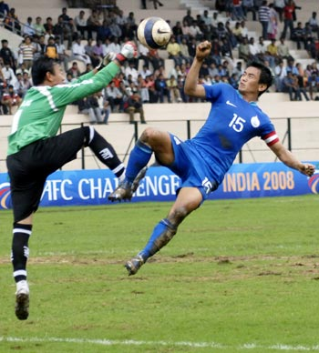 Bhutia has led India to six titles