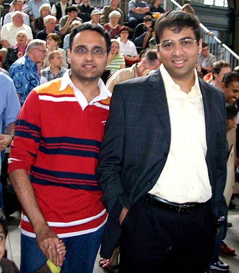 Spotted: Viswanathan Anand in Zurich